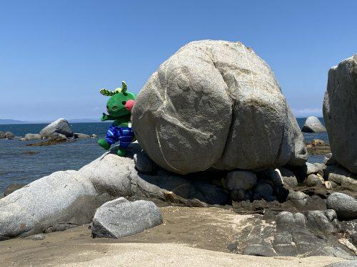 おしり岩(黒津崎海岸)