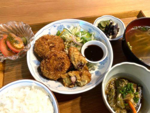 竹田津たこコロ定食